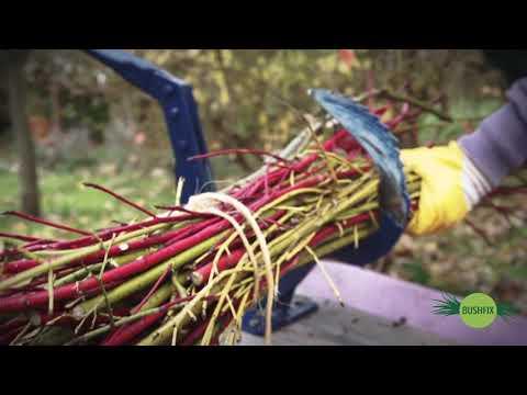 Reisigbinder Bushfix R50 - innovatives Gartengerät für aktiven Naturschutz - Gartenwerkzeug